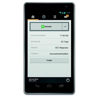 timeCard App